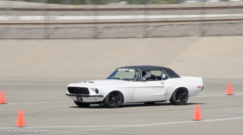 Joe Parks 1968 Mustang Saturday NMCA Hotchkis Autocross season finale October 2017