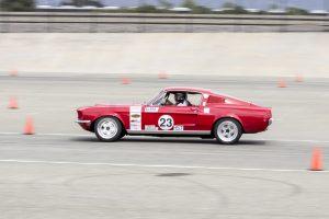 John Fendel 1968 Mustang NMCA Autocross