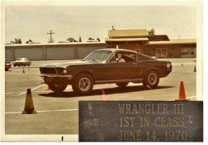 John Fendel 1968 Mustang first place June 1970