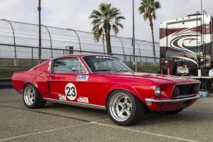 John Fendel 1968 Mustang 3/4 shot