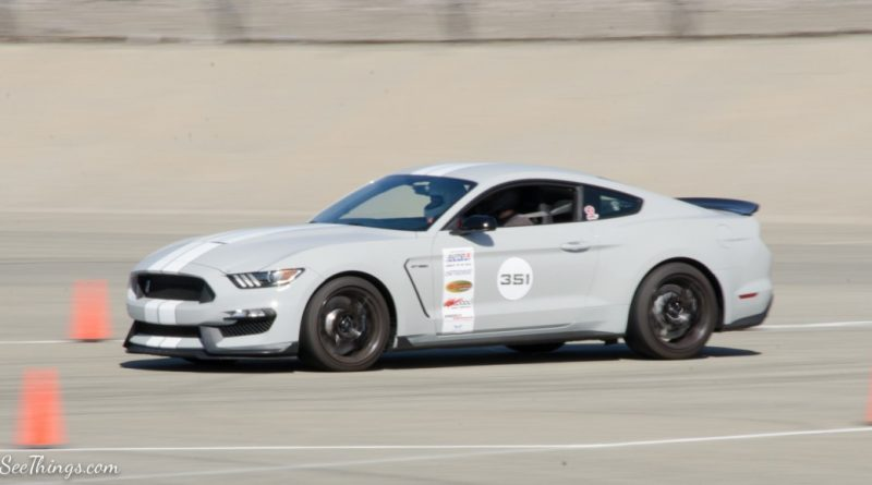 Jose Ramirez 2016 Mustang GT350 Saturday NMCA Hotchkis Autocross season finale October 2017