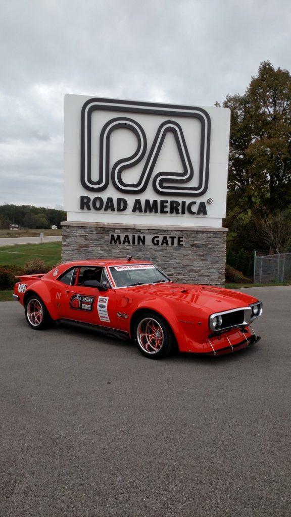 Kevin Dunn 1967 Potiac Firebird Road America