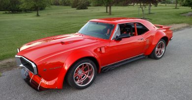 Kevin Dunn 1967 widebody firebird