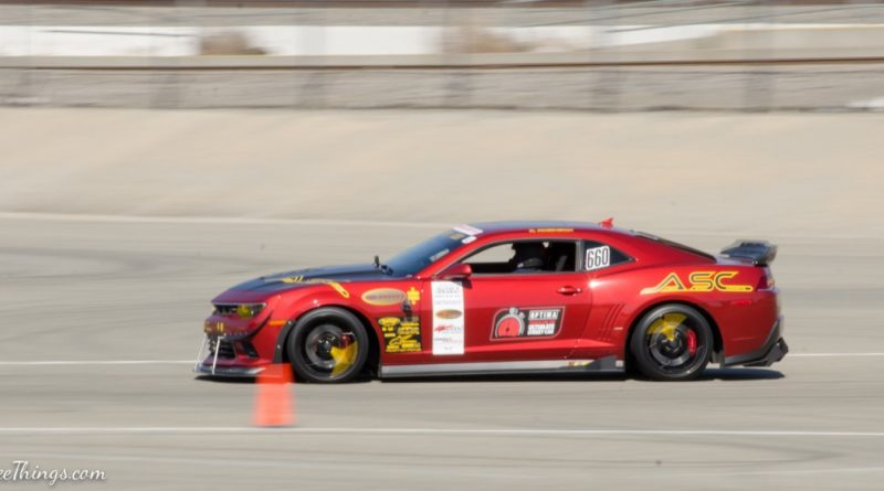 Kurt Robinson 2015 Camaro ASC Saturday NMCA Hotchkis Autocross season finale October 2017