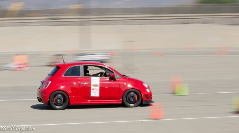Mark Alison 2013 Fiat Abarth Saturday NMCA Hotchkis Autocross season finale October 2017