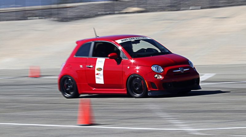Mark Alison Fiat Abarth NMCA Hotchkis Autocross October 2017