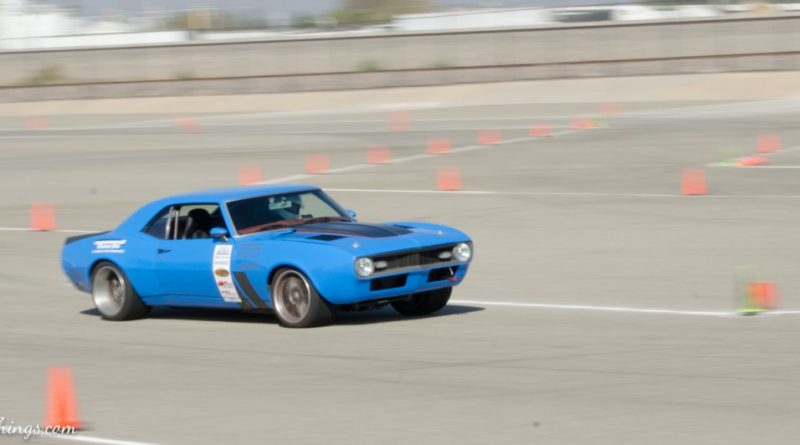 Michael Cuthbertson 1968 Camaro Saturday NMCA Hotchkis Autocross season finale October 2017