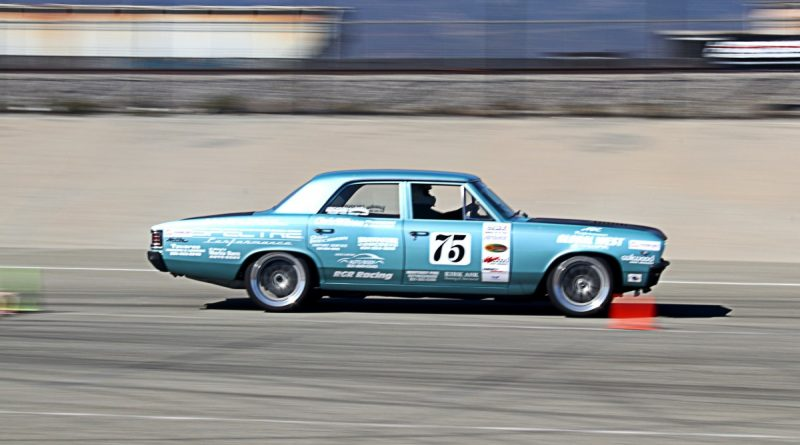 Michael Erickson 1967 Chevelle NMCA Hotchkis Autocross October 2017