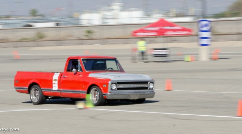 Michael Williams 1969 Chevrolet C10 Saturday NMCA Hotchkis Autocross season finale October 2017