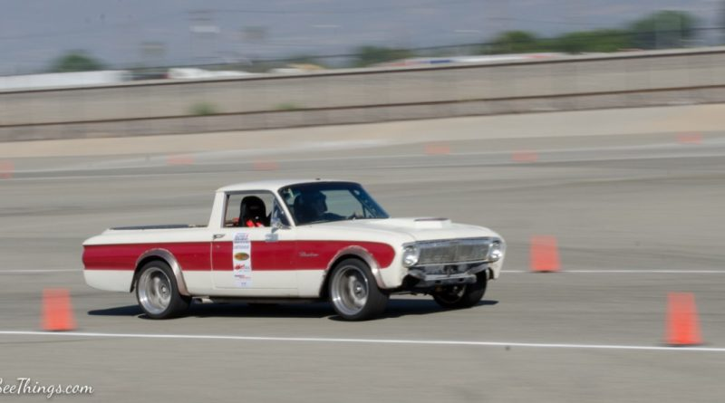 Pat Sheely 1962 Ranchero Saturday NMCA Hotchkis Autocross season finale October 2017