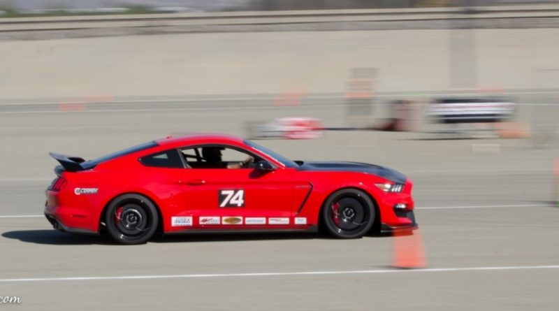 Paul Molina 2016 Mustang GT350R Saturday NMCA Hotchkis Autocross season finale October 2017