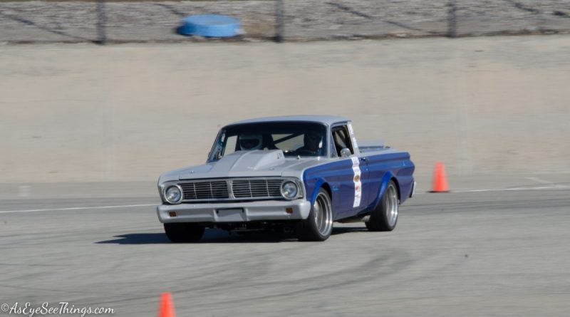 Richard Trujillo 1965 Ranchero Saturday NMCA Hotchkis Autocross season finale October 2017