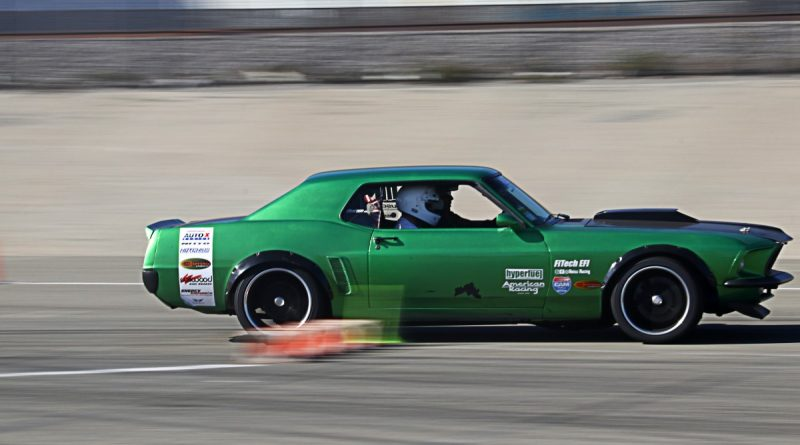 Richard Trujillo 1969 Mustang NMCA Hotchkis Autocross season finale October 2017