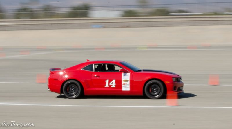 Rick DeHart 2012 Camaro Saturday NMCA Hotchkis Autocross season finale October 2017