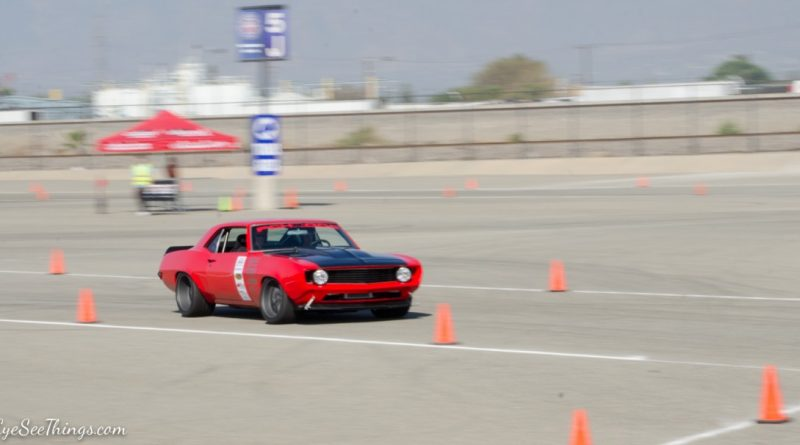 Robb McIntosh 1969 Camaro Saturday NMCA Hotchkis Autocross season finale October 2017