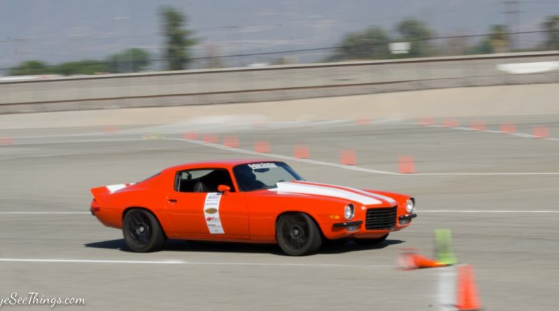 Ryan McCarthy 1973 Camaro Saturday NMCA Hotchkis Autocross season finale October 2017