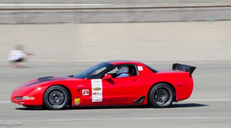 Scot Spiewak 2003 Corvette Saturday NMCA Hotchkis Autocross season finale October 2017