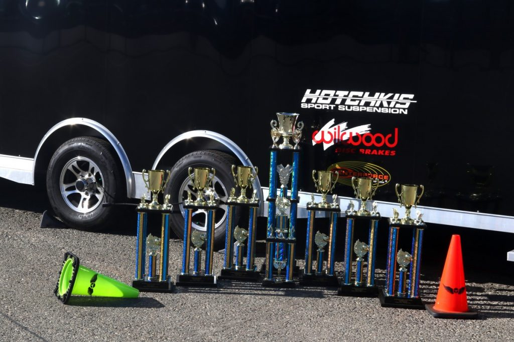 Season Champioinship Trophies NMCA Hotchkis Autocross season finale October 2017