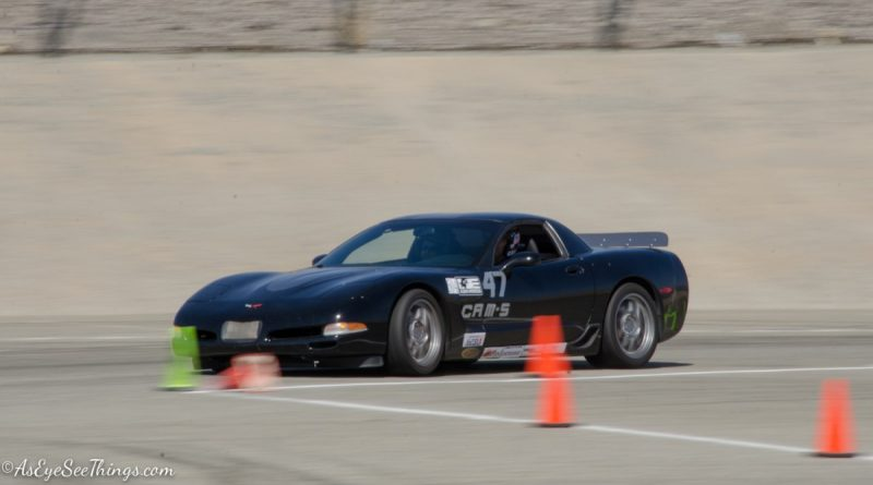 Tom Kamman 2004 Corvette Z06 Saturday NMCA Hotchkis Autocross season finale October 2017