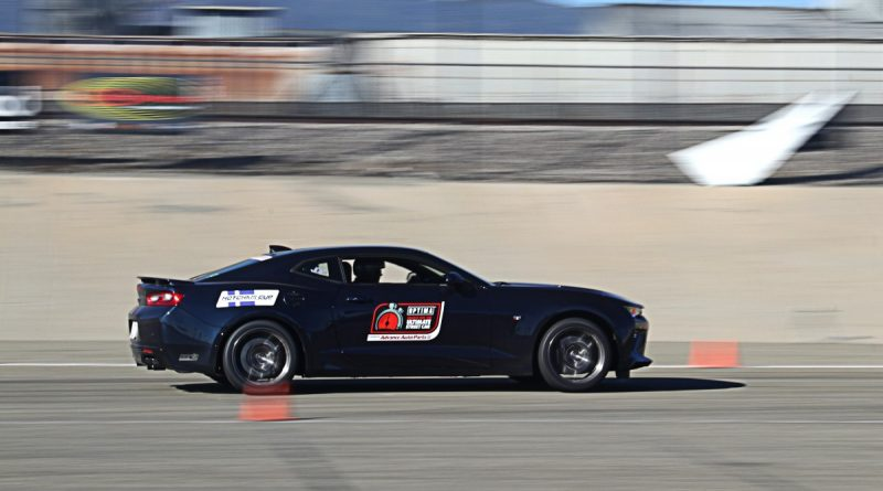 Trish Byrd Camaro NMCA Hotchkis Autocross season finale October 2017