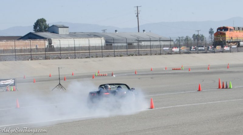 Troy Lyman 2007 Saturn Sky Saturday NMCA Hotchkis Autocross season finale October 2017 2