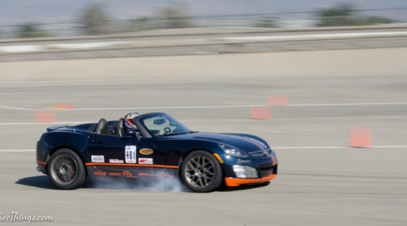 Troy Lyman 2007 Saturn Sky Saturday NMCA Hotchkis Autocross season finale October 2017