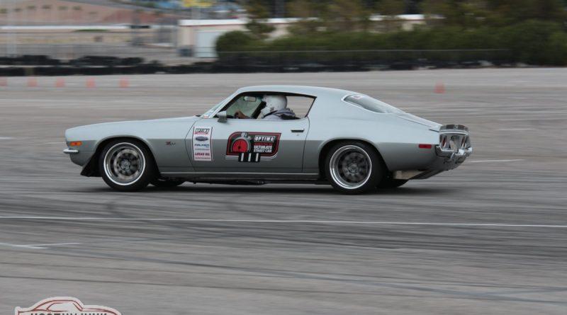 Bryan Battaglini 1970 Camaro GTV D and E 2nd place Optima USCA Las Vegas 2018