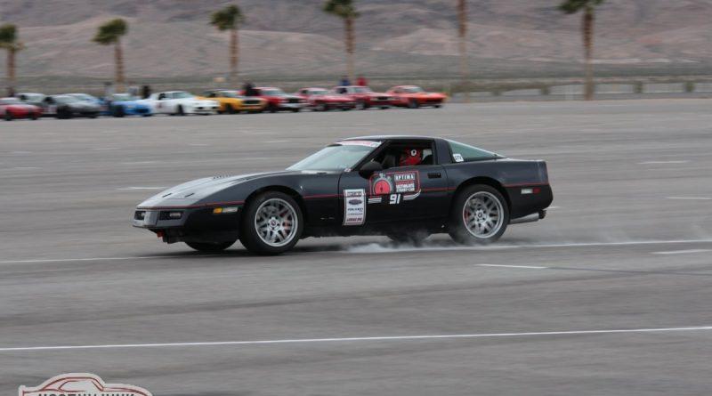 CB Ramey 1984 Corvette Autocross Optima USCA Las Vegas 2018