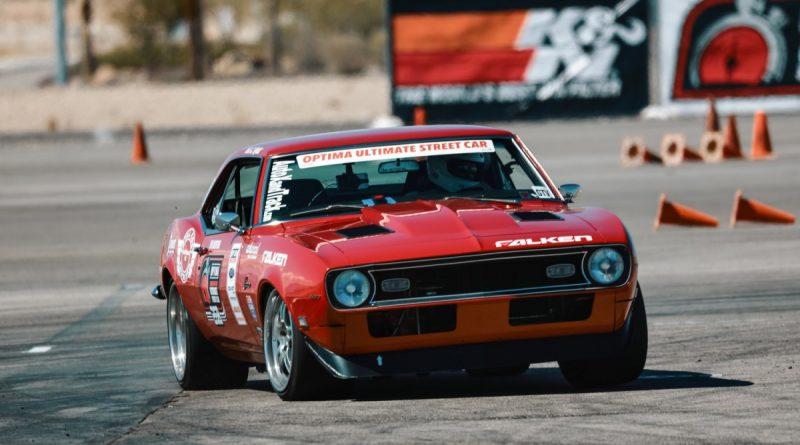 Chad Ryker 1968 Camaro Optima Ultimate Street Car Las Vegas Speed Stop March 2018