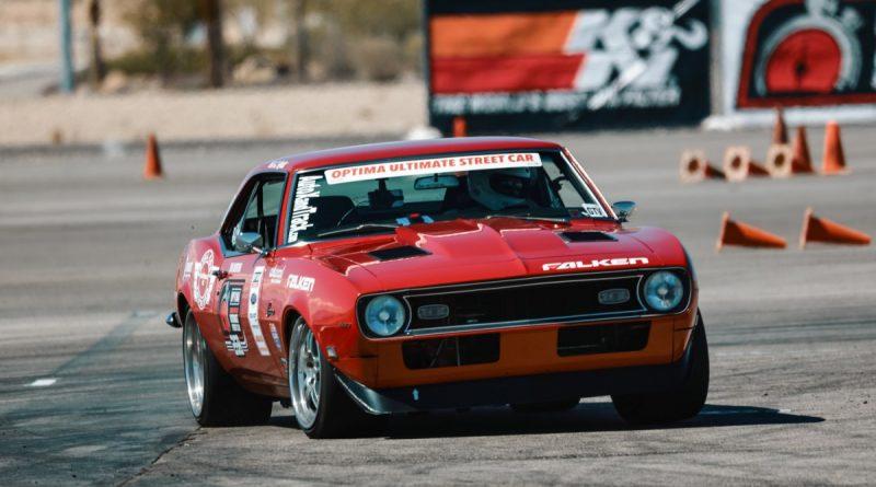 Chad Ryker 1968 Camaro Optima Ultimate Street Car Las Vegas Speed Stop March 2018