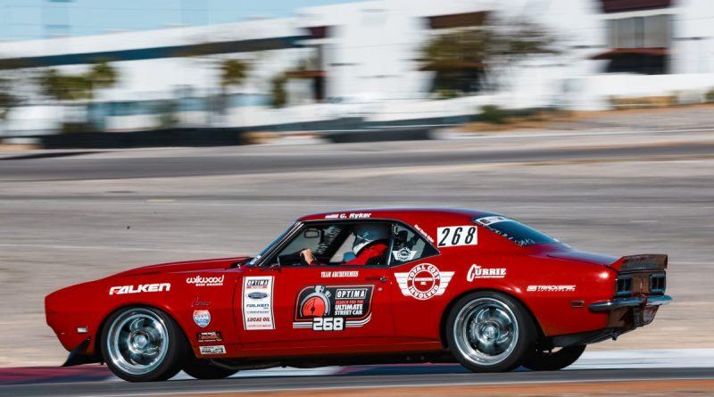 Chad Ryker 1968 Camaro Road Course USCA Las Vegas 2018
