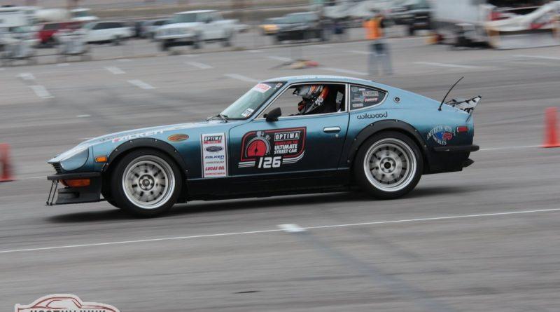 David Carroll 1975 280z Autocross Optima USCA Las Vegas 2018