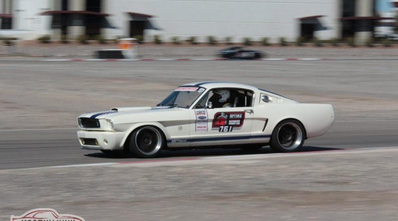 Matt Alcala 1965 Mustang D and E 2nd place GTV Optima USCA Las Vegas March 2018