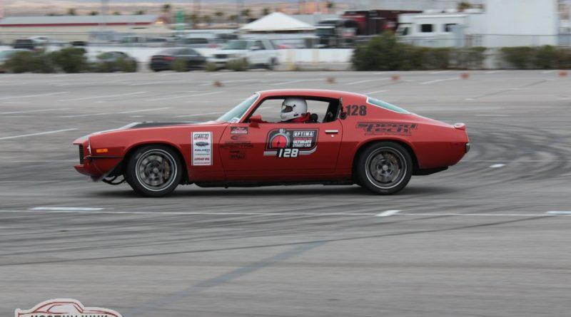 Nick Relampagos 1970 Camaro speed stop Optima USCA Las Vegas 2018