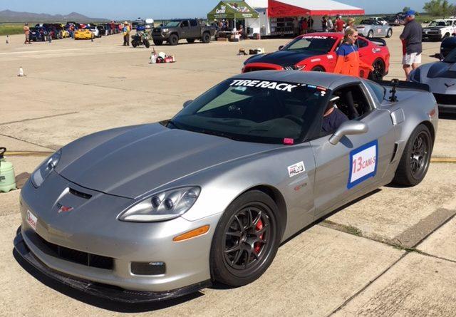 Anthony Olea 2007 Corvette CAM-S CAM Challenge ProSolo Crows Landing 2018