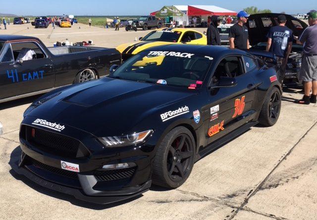 Chris Cox 2015 Mustang GT350R CAM-C Crows Landing CAM Challenge ProSolo 2018