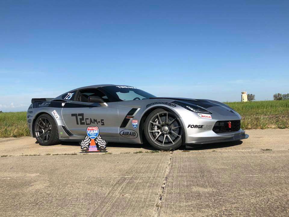 Jordan Priestley 2017 Corvette CAM-S Crows Landing CAM Challenge Winner ProSolo 2018