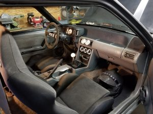 Danny Leetch Autocross Fox Body Mustang Interior 2