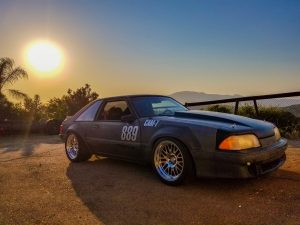 Danny Leetch Autocross Fox Body Mustang Sunset 3