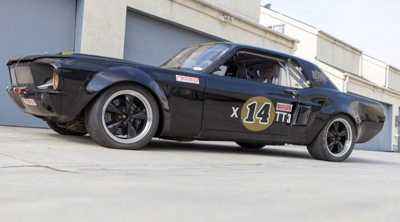 Road Race 67 Mustang