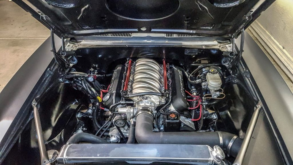 Tommy Toemmerdal C5 Z06 swapped 1967 Camaro Engine