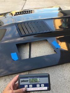 1967 1968 1969 Camaro Anvil Auto Carbon Fiber Hood Weighs 24 lbs