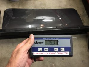 1967 1968 1969 Camaro Anvil Auto Carbon Fiber Trunk lid deck lid weighs 15 lbs