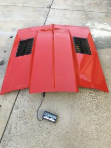 1967 1968 1969 Camaro Cowl Steel Hood Weighs 55 8 lbs 2
