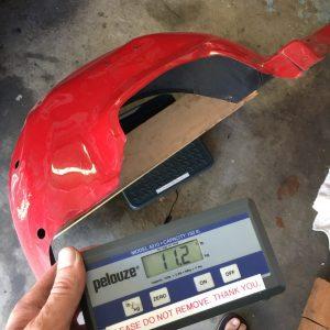 1967 1968 1969 Camaro Steel Inner Fender weighs 11 point 2 lbs