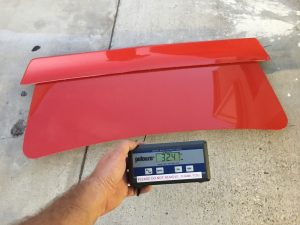 1967 1968 1969 Camaro steel trunk lid deck lid weighs with spoiler 32 4 lbs