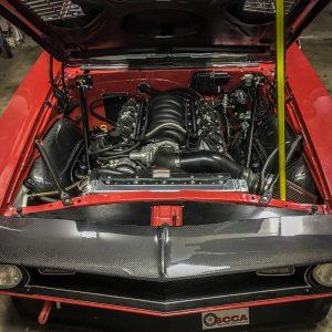 1968 Camaro Anvil Auto Carbon Fiber Inner Wheel wells, hood, header panel and cowl