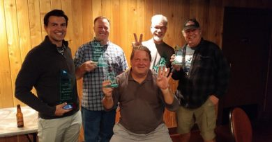 2018 SDR CAM-T awards banquet and trophy winners
