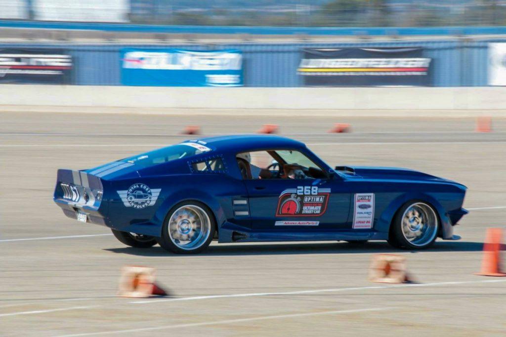 Chad Ryker TCI Engineering 1967 Mustang DriveOPTIMA Auto Club Speedway 2018 2