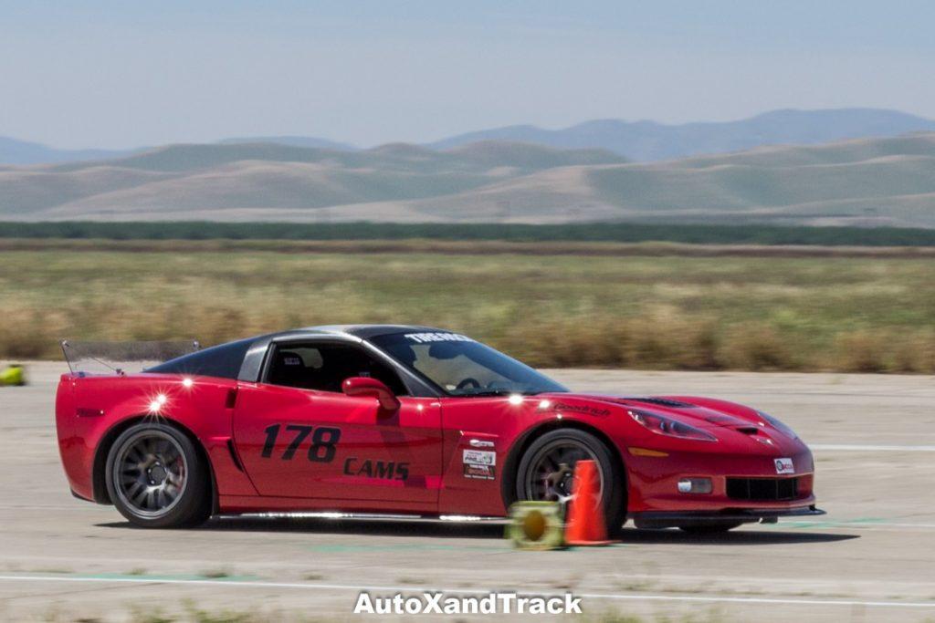 Crows Landing CAM Challenge-Karlton Lew 2006 Corvette Z06 CAM-S winner